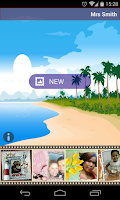 Screenshot of Vacation Photo Frames