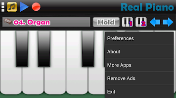 Screenshot of Real Piano