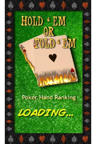 Hold Em Or Fold Em Heads UP