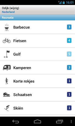 Meteovista - screenshot