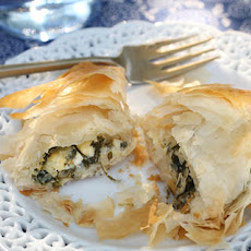 Spanakopita (Greek Spinach and Feta Pies)