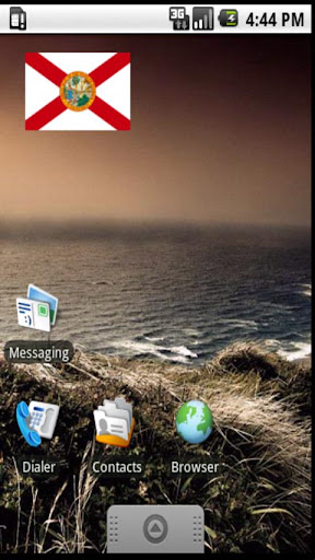 Florida Flag Widget