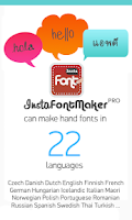 Screenshot of InstaFontMaker Font Maker Free