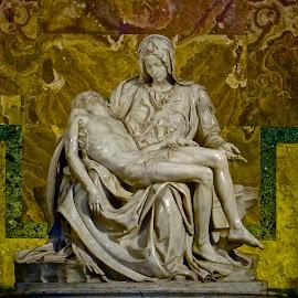 The Pieta by Steven Aicinena - Buildings & Architecture Statues & Monuments ( pieta,  )