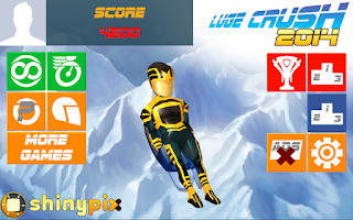 Screenshot of Luge Crush 2014