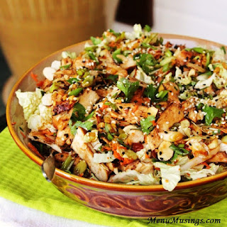 Asian Chicken Salad With Napa Cabbage Recipes