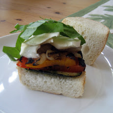 Fresh Mozzarella & Grilled Vegetable Sandwich