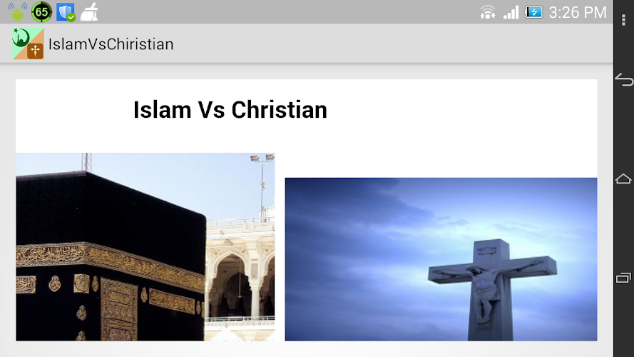 islam and christanity Is islam an improvement over christianity and judaism essay - after this quarter's learning, i agree with the claim that islam was an improvement over christianity and judaism there are few reasons for this.