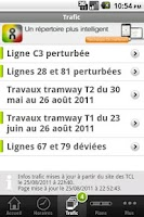 Screenshot of Lyon Métro