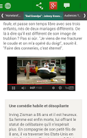 Screenshot of Metronews pour smartphone