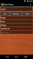 Screenshot of BeeCount Knitting Counter
