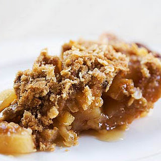 Pear Ginger Maple Pie