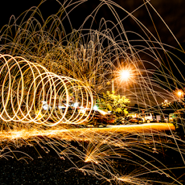 Fun fun shot by Elf's Photography - Abstract Light Painting
