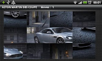 Screenshot of Hot Cars Puzzle