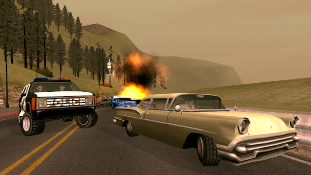 grand theft auto san andreas apk screenshot