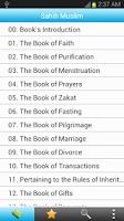 Screenshot of Sahih Muslim (English)