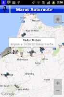 Screenshot of Maroc Autoroute