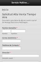 Screenshot of Vende Tiempo Aire