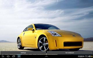 Screenshot of Cars Live Wallpaper