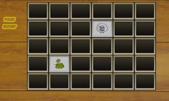 Screenshot of Cartoon Animal Memory Game