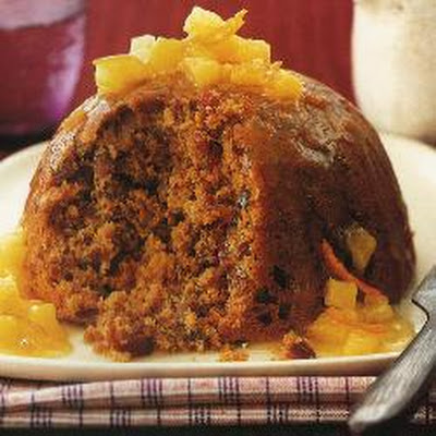 Sticky Date And Walnut Pudding