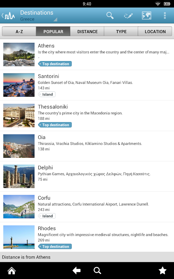 World Travel Guide by Triposo Screenshot 8