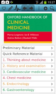 Oxford Handbook Clinical Med9 screenshot for Android