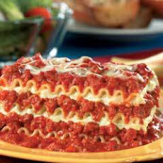 Easy Beef Lasagna (featuring Ragu 2 Lb. 13 Oz. Jar)