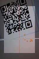 Screenshot of QR code Generation