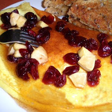Apple-Cranberry Omelette