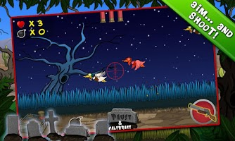 Screenshot of Zombie Duck Hunt