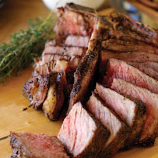 Grilled Thyme Smoked Porterhouse Steak Recipe