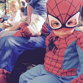 Are you talking to me? by Keren Elimeleh - Babies & Children Toddlers ( costumes, spiderman, halloween )