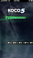 Screenshot of Tornadoes KOCO 5