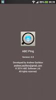 Screenshot of ABC Ping