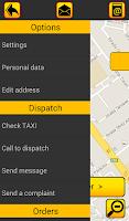 Screenshot of TAXI LUCA Client