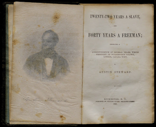 The Wilberforce Colony flourished under Steward's leadership during the early and mid-1830s. His autobiography records his own flight to freedom and the struggles of other former slaves who found sanctuary in the Wilberforce Colony.