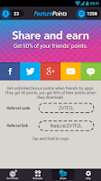 Screenshot of FeaturePoints: Free Gift Cards