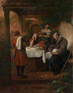 RIJKS: Jan Havicksz. Steen: painting 1668