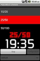 Screenshot of Poker Blind Schedule
