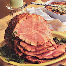 Baked Ham with Mustard and Marjoram
