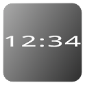 Mono Clock Widget icon