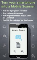 Screenshot of Lectures Scanner