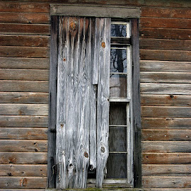 Borded window by Jim Westcott - Buildings & Architecture Decaying & Abandoned ( abstract, aged wood, buildings, windows, architecture, abandoned )