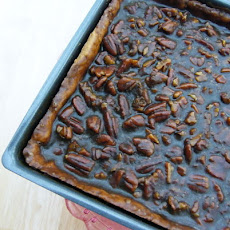 Maple Pecan Sticky Bars