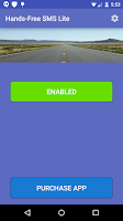 Screenshot of Hands-Free SMS Lite