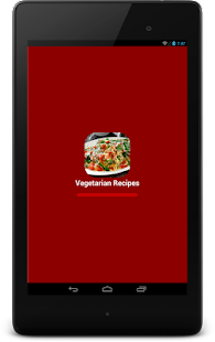 Vegetarian Recipes - screenshot