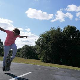 The Cross by Mallory Lambert - Sports & Fitness Skateboarding