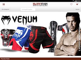 Screenshot of BUDODAN Kampfsport Shop
