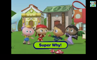 Screenshot of Super why clipstube